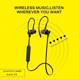 Awei Earphone Bluetooth Sport Stereo dengan Microphone - A990BL - Black - 4