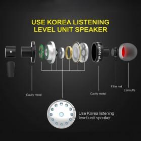 Awei Earphone Bluetooth Sport Stereo dengan Microphone - A990BL - Black - 5