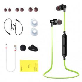 Awei Earphone Bluetooth Sport Stereo dengan Microphone - A990BL - Black - 8