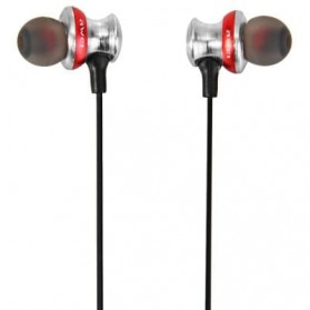 Awei Earphone Bluetooth Sport dengan Microphone - A980BL - Black/Black - 4