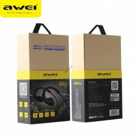 AWEI Bluetooth Earphone Headset dengan NFC - A885BL - Black - 6