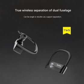 AWEI Wireless Mini Bluetooth Earphone - T2 - Black - 3