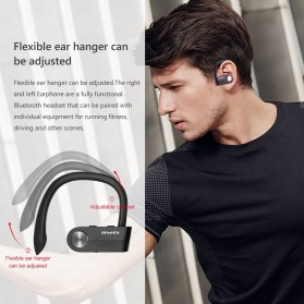 AWEI Wireless Mini Bluetooth Earphone - T2 - Black - 4