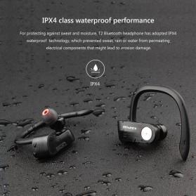 AWEI Wireless Mini Bluetooth Earphone - T2 - Black - 6