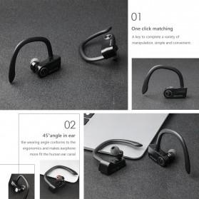 AWEI Wireless Mini Bluetooth Earphone - T2 - Black - 8