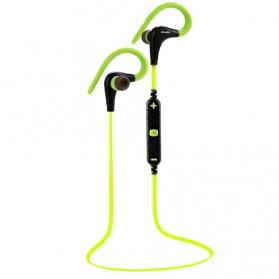 AWEI Earphone Bluetooth dengan Microphone - A890BL - Green