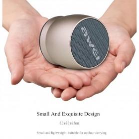 AWEI Mini Bluetooth Speaker - Y500 - Gray - 3