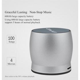 AWEI Mini Bluetooth Speaker - Y500 - Gray - 5