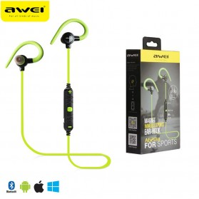 AWEI Earphone Bluetooth dengan Microphone - A620BL - Green