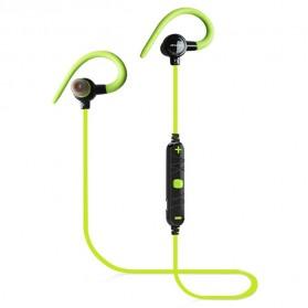 AWEI Earphone Bluetooth dengan Microphone - A620BL - Green - 2