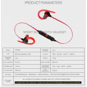 AWEI Earphone Bluetooth dengan Microphone - A620BL - Green - 9