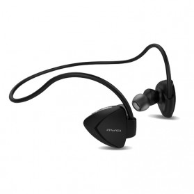 AWEI Bluetooth Earphone Headset dengan NFC - A840BL - Black - 2
