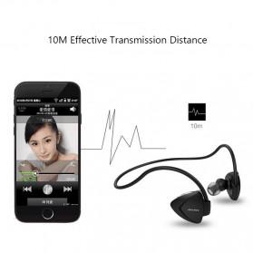 AWEI Bluetooth Earphone Headset dengan NFC - A840BL - Black - 4