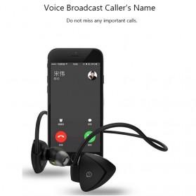 AWEI Bluetooth Earphone Headset dengan NFC - A840BL - Black - 7