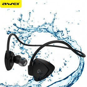 AWEI Bluetooth Earphone Headset dengan NFC - A840BL - Black - 8
