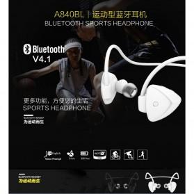 AWEI Bluetooth Earphone Headset dengan NFC - A840BL - Black - 9