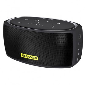 AWEI Portable Bluetooth Speaker dengan NFC - Y210 - Black