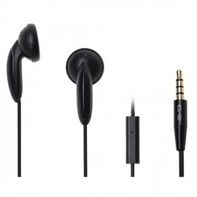 Awei Earphone Noise-Isolating with Mic - ES12i - Black