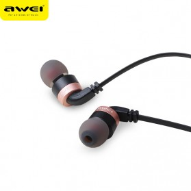 Awei Earphone Noise-Isolating with Mic - ES-30TY - Black - 2