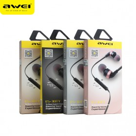 Awei Earphone Noise-Isolating with Mic - ES-30TY - Black - 5