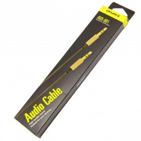 AWEI Kabel AUX 3.5mm 1 meter - AUX-001 - Golden - 5