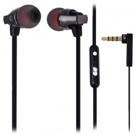 Awei Earphone Noise-Isolating with Mic - ES-860Hi - Black - 2