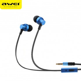 Awei Earphone Ultimate Smart with Mic - ES910i - Black - 3