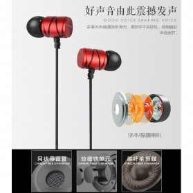Awei Earphone Ultimate Smart with Mic - Q5i - Black - 5