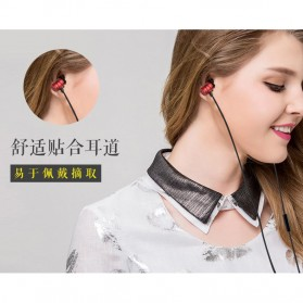 Awei Earphone Ultimate Smart with Mic - Q5i - Black - 6
