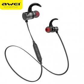 AWEI Bluetooth Earphone Headset - AK7 - Black