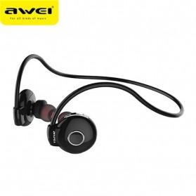 AWEI Bluetooth Earphone Headset - A845BL - Black - 2