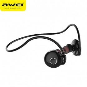 AWEI Bluetooth Earphone Headset - A845BL - Black - 3