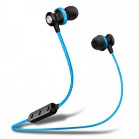 AWEI Bluetooth Earphone Headset - B980BL - Blue - 2