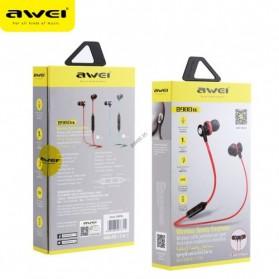 AWEI Bluetooth Earphone Headset - B980BL - Blue - 4