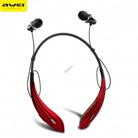 AWEI Bluetooth Earphone Headset - A810BL - Red