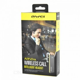 AWEI Smart Wireless Headset Earphone - A850BL - Black - 6