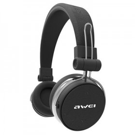 AWEI Bluetooth Wireless Headset Headphone with Mic - A700BL - Black