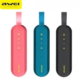 Awei Portable Bluetooth Speaker 3D Stereo - Y230 - Black - 5
