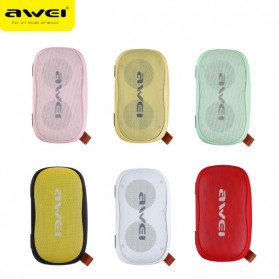 Awei Portable Bluetooth Speaker 3D Stereo - Y900 - Black/Yellow - 5