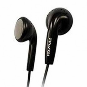 Awei Earphone Earbud dengan Microphone- ES-11 - Black - 2