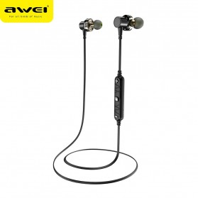 AWEI Sport Bluetooth Earphone 4 Driver - X660BL - Black