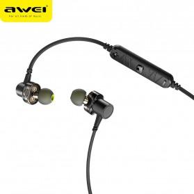 AWEI Sport Bluetooth Earphone 4 Driver - X660BL - Black - 3