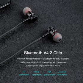 AWEI Bluetooth Earphone Headset - G10 - Black - 3