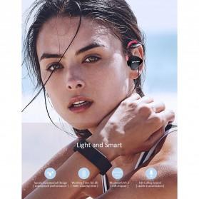 AWEI Bluetooth Earphone Headset - A847BL - Black - 4