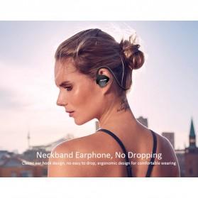 AWEI Bluetooth Earphone Headset - A847BL - Black - 5