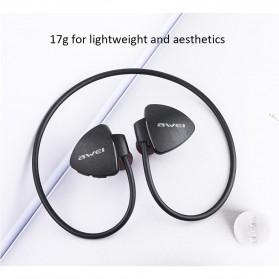 AWEI Bluetooth Earphone Headset - A847BL - Black - 7