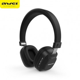 AWEI Bluetooth Wireless Headset Headphone v4.2 with Mic - A760BL - Black