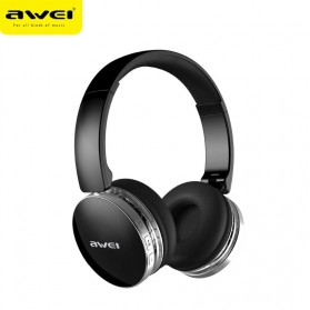 AWEI Bluetooth Wireless Headphone Foldable - A500BL - Black