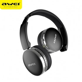 AWEI Bluetooth Wireless Headphone Foldable - A500BL - Black - 2