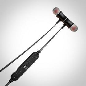 Awei Earphone Bluetooth Sport Magnetic dengan Microphone - A921BL - Black - 8